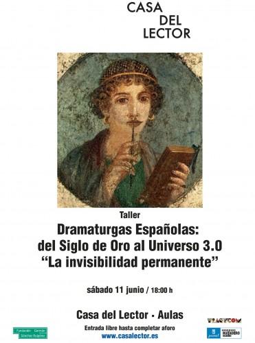 Encuentro de dramaturgas. Casa del Lector (11/06/16)
