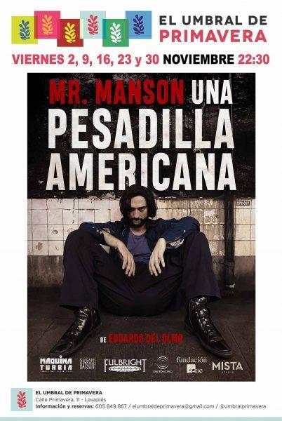 Mr. Manson. Una pesadilla americana.